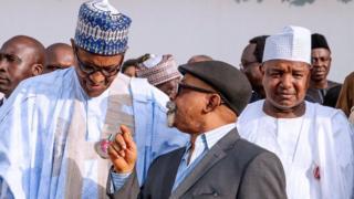 Onyeisiala Buhari na Chris Ngige