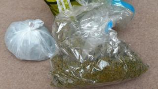 The herbal cannabis was seized at a Belfast city centre apartment
