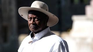 Prezida wa Uganda Yoweri Museveni