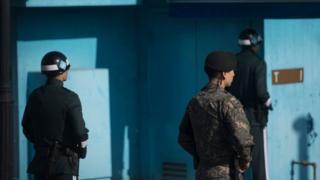 Кордон між Південною Кореєю і КНДР