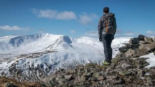 A day in the Southern Cairngorms before the lockdown