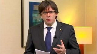 Ông Carles Puigdemont
