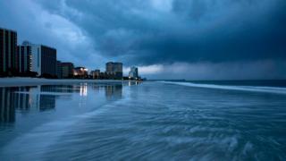 Пляж в Южной Каролине