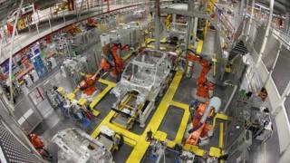 UK car production line