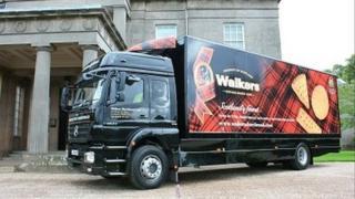 Walkers Shortbread lorry
