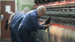 Harris Tweed Hebrides' Shawbost mill