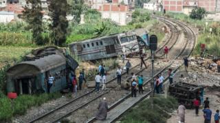 شهدت مصر في السنوات الأخيرة العديد من حوادث القطارات