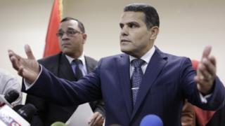 Egypt's Deputy Public Prosecutor Mustafa Suleiman, the head of an Egyptian delegation that was in Rome last week