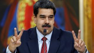 Nicolas Maduro, muhalif siyasetçi Guaidó'nun anayasayı ihlal ettiğini söyledi.