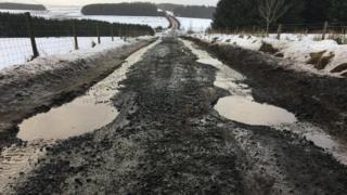 Дорога в Шотландии