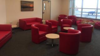 Patient room, Ronaldsway Airport