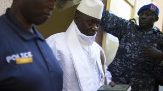 After Decembr 2016, Jammeh comot Gambia go exile for Equatorial Guinea