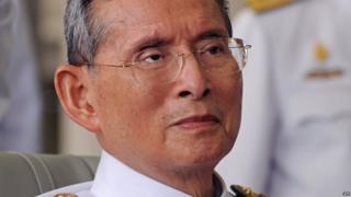 The Thai King, Bhumibol Adulyadej, pictured in 2011