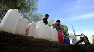 Вода в Дамаске