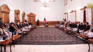 غنی و اعضای شورای انسجام حمعیت اسلامی