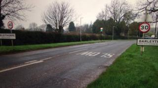 Switched speed signs in Rutland
