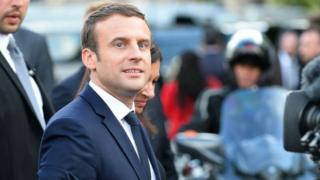 Hii ni ziara ya kwanza kwa Macron tokea achaguliwe kuwa Rais wa Ufaransa