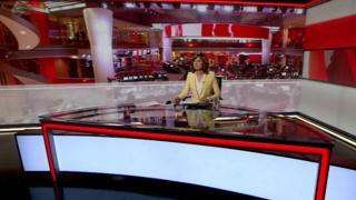 BBC News Millbank studio
