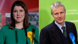 Jo Swinson and Zac Goldsmith