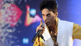 File photo from 2011 shows US singer and musician Prince performing at the Stade de France in Saint-Denis, outside Paris