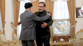 دیدار وزیر خارجه عمان با دبیر شورای عالی امنیت ملی ایران دیدار کرده است
