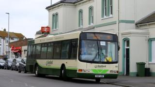 Southern rail replacement bus