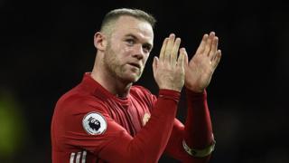 Rooney, qui est âgé de 31 ans, n'est pas titulaire à l'heure et son contrat de Rooney avec Manchester United se termine à la fin de la saison 2017-2018.