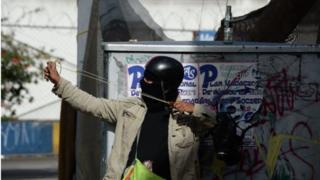 Venezuela'da protestocular