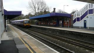 Twyford Station in Wokingham
