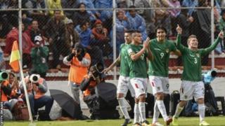 Bolivia 2-0 ayey ku badisay