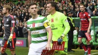 Arsenal na Leicester zote zina hamu ya kumsajili mchezaji wa Celtic na mlinzi wa Scotland Kieran Tierney