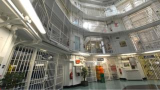 General view inside a prison