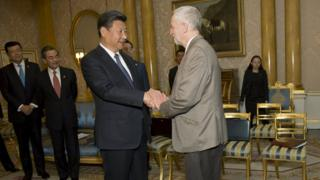 Corbyn and President Xi