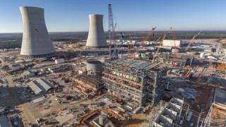 """محطة """"ويستنغهاوس فوتل"""" النووية في ولاية جورجيا"""