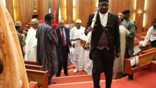 An gano sandar ne a wani wuri dake kusan da kan gadar kofar gari wato City Gate da ke Abuja.