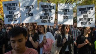 Terbongkarnya kasus pelecehan seksual dan tindak diskriminasi di sejumlah perusahaan teknologi ternama di Silicon Valley menimbulkan gelombang unjuk rasa dan mogok kerja oleh para karyawan