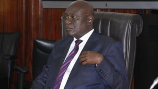 Edward Adjaho, le président du Parlement du Ghana