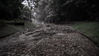 Постраждале від виверження село Ель Порвенір