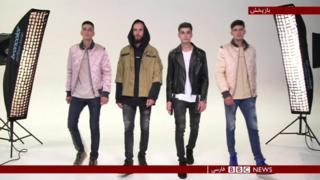 چالشهای 'مدل بودن' برای مردان چچنی