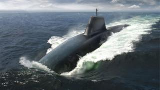 Dreadnought-class submarine (artist's impression)