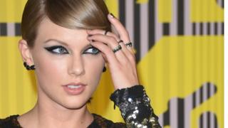 Taylor Swift at the MTV Video Music Awards in America