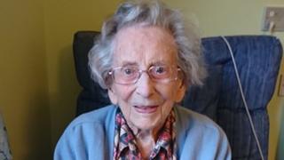 World War Two veteran Anne Robson dies aged 108