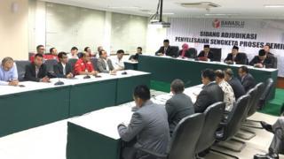 Bawaslu menolak gugatan PKPI yang hendak menjadi peserta pemilu 2019