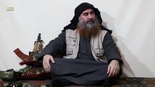 ویدیوی تازه منسوب به رهبر داعش