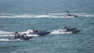 قایقهای سپاه