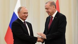 دیدار روسیه و ترکیه در تهران