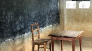 Cameroon classroom