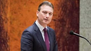 Міністр закордонних справ Нідерландів Халбе Зейлстра