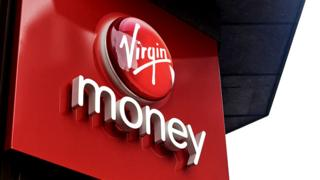 Virgin Money sign
