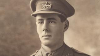 Second Lieutenant Hardy Parsons